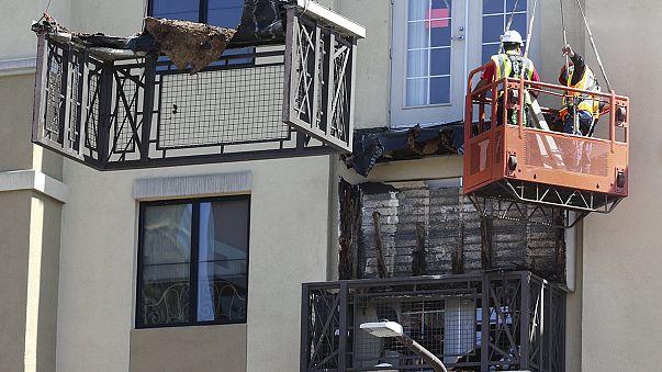 Balkonunglück in Berkeley: Irischer Konsul legt Kranz nieder
