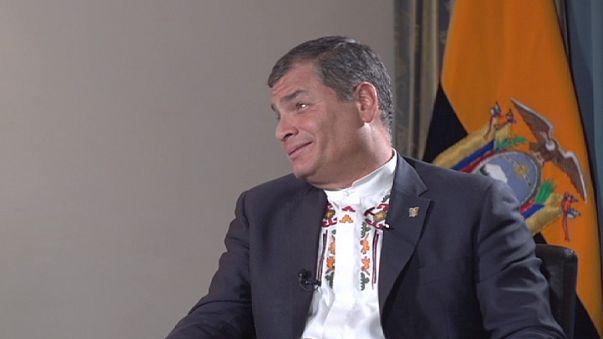"""Rafael Correa : """"Les conditions imposées à la Grèce n'ont jamais visé à surmonter la crise, mais à liquider la dette"""""""