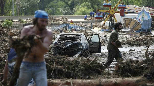 Tiger kills man after escaping Tbilisi Zoo during floods