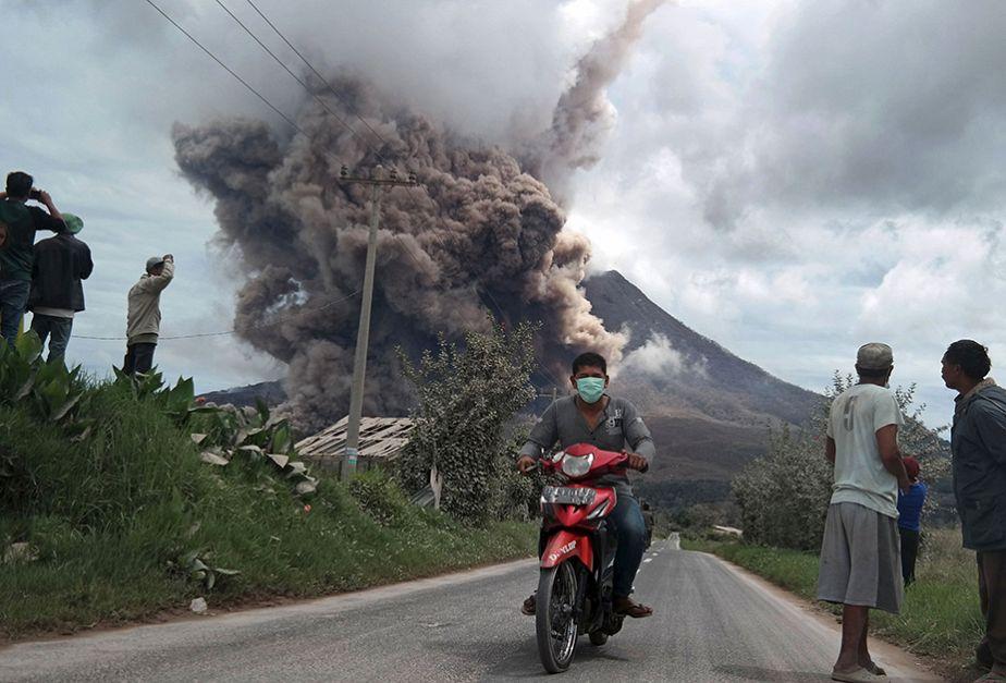 La vie continue au Sinabung