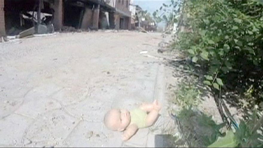 Ghost village in Eastern Ukraine