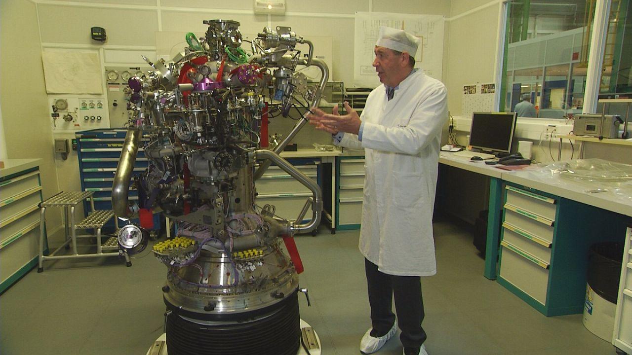 آشنایی با نحوه ساخت موتور پرتابه فضاپیماها