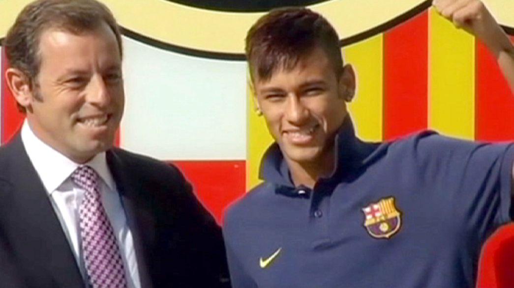 Barcelona star Neymar named in transfer fraud lawsuit