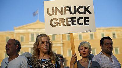 Athens rallies against austerity ahead of eurozone crunch talks