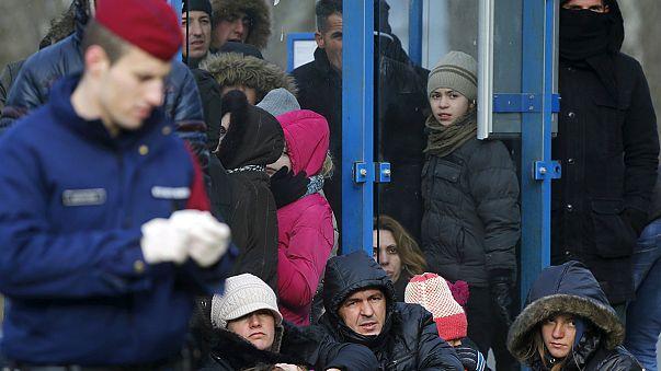 تنديد بقرار المجر اغلاق حدودها بسبب تدفق المهاجرين
