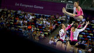 Aranyeső Bakuban az Európa Játékokon