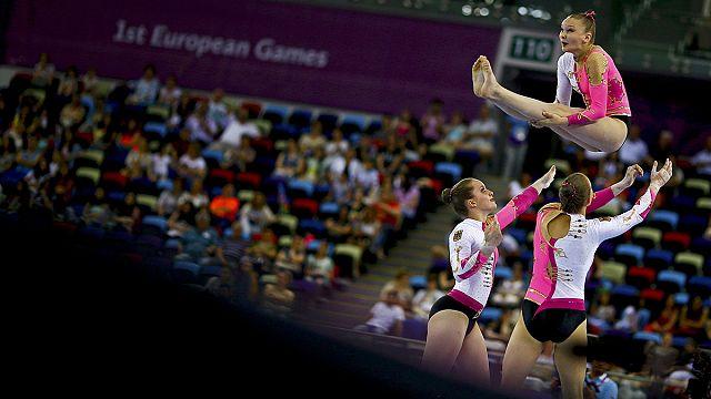 2015 European Games: Gazyumov hands hosts Azerbaijan wrestling gold
