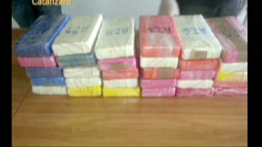 Quatre tonnes de cocaïne saisies par la police italienne