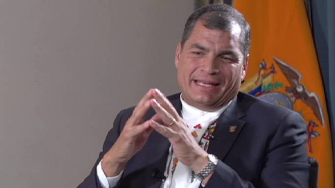 Rafael Correa: entrevista completa