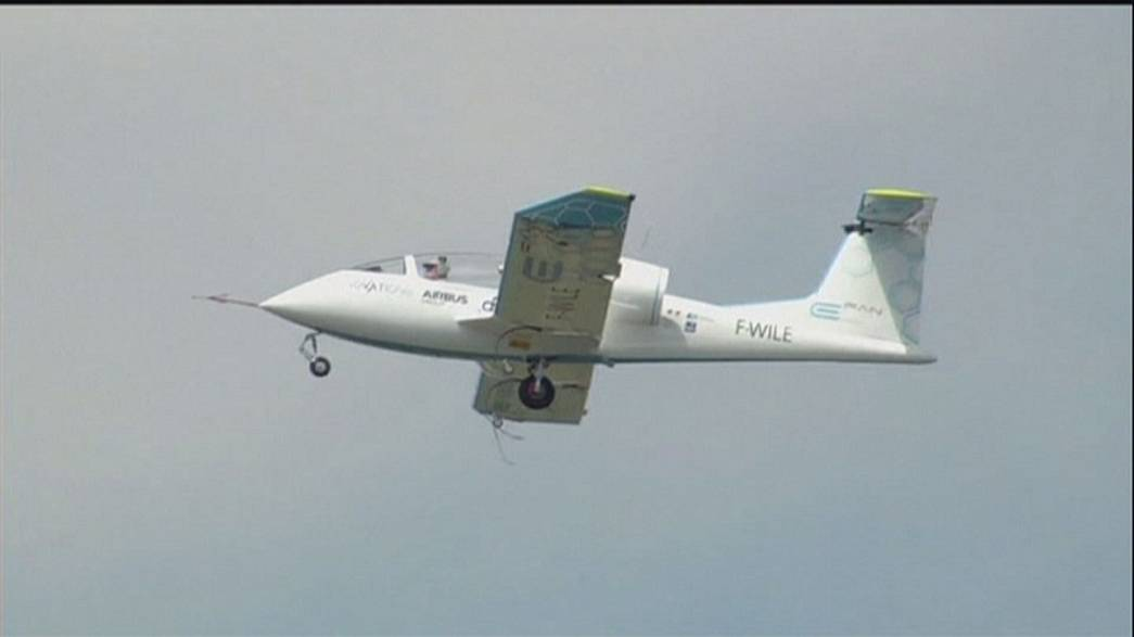 Drones, avions électriques... les dernières innovations sont au Bourget