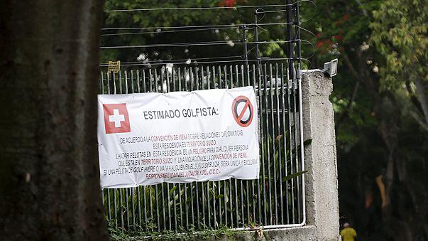 Golfháború Svájc és Venezuela között