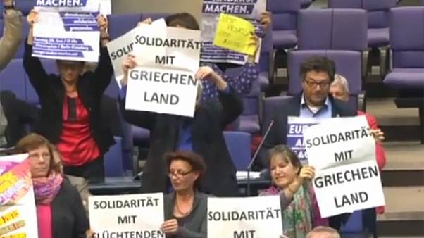 «Αλληλεγγύη προς την Ελλάδα» - Βίντεο μέσα από την  γερμανική Βουλή