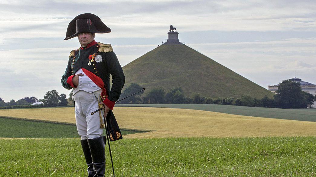 Waterloo celebra los 200 años de la derrota de Napoleón