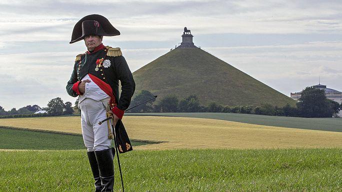 A franciák nélkül emlékeztek Waterloora