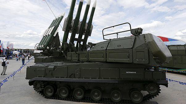 Démonstration de force militaire en Russie