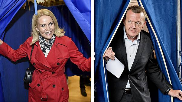 Denmark votes in a too close to call election