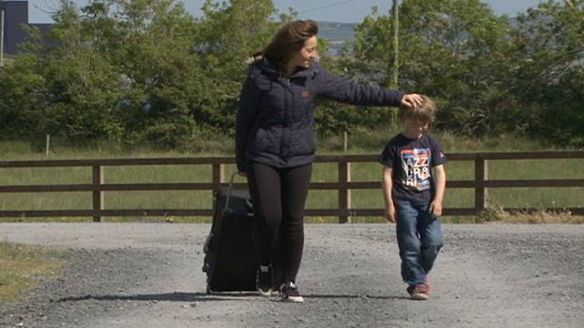 Írország hazavár