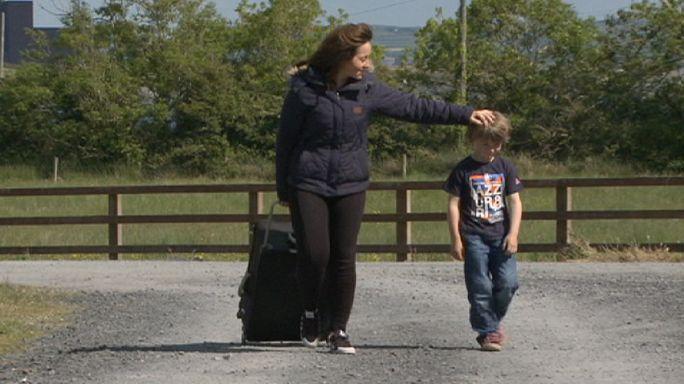 İrlandalı göçmenler için eve dönme zamanı