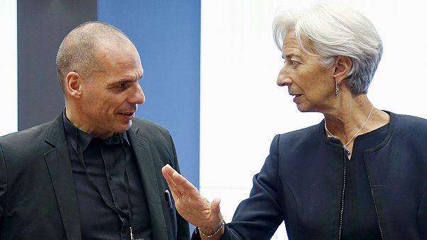 """Ameaça de um """"Grexit"""" paira na reunião do Eurogrupo"""