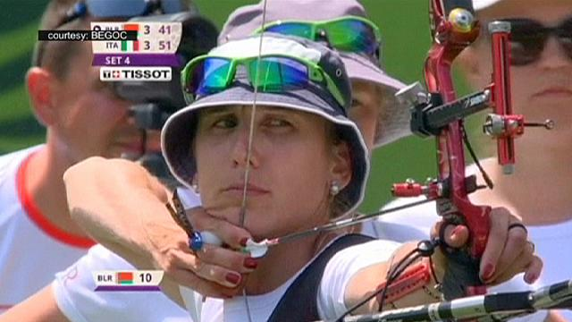 European Games: Italy celebrate second Archery gold