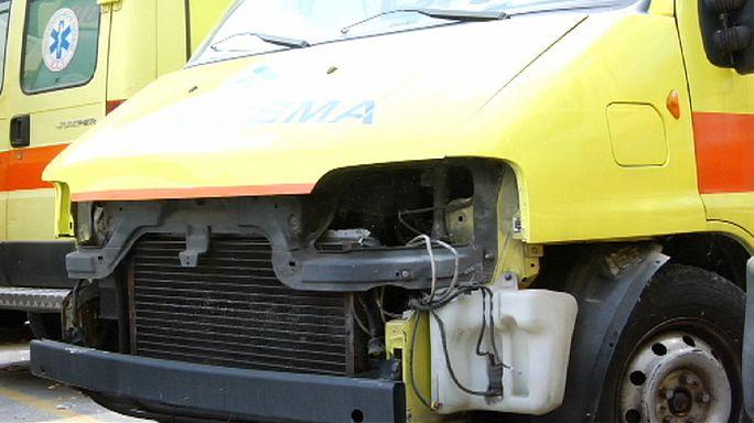 اليونان: سيارات الاسعاف لم تسلم من الأزمة المالية