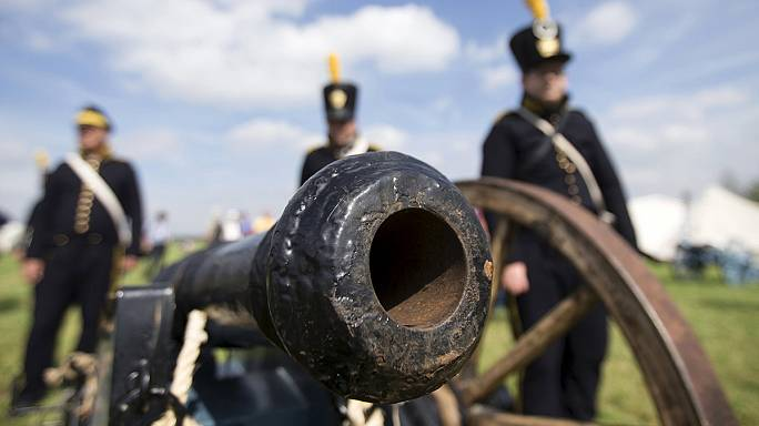 Waterloo re-enactment kicks off in Belgium