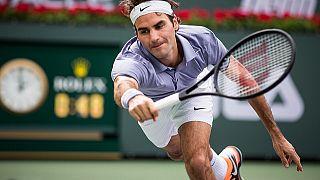 Federer sonunda bu vuruşu da yaptı!