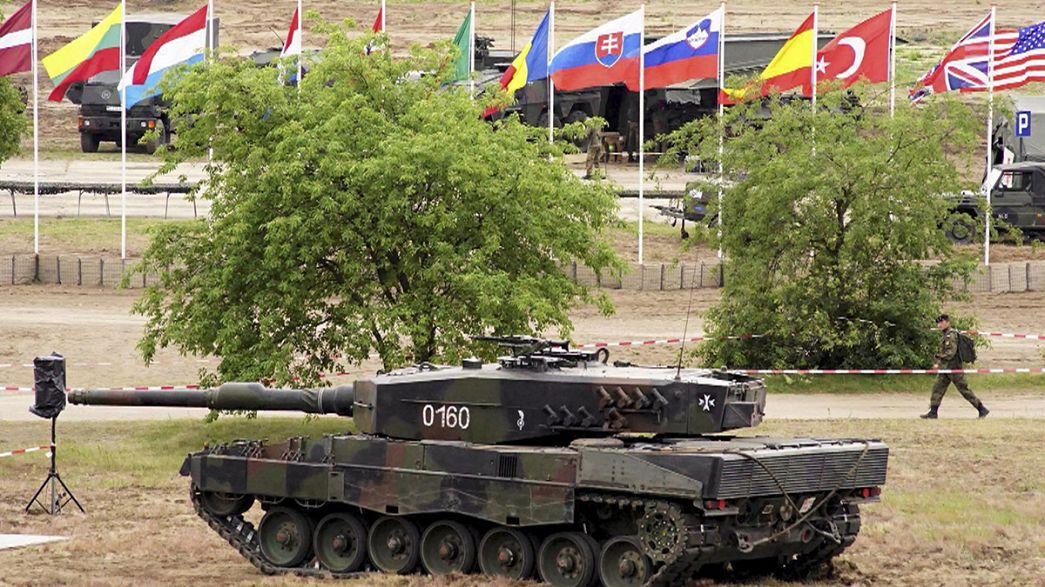 La OTAN hace una demostración de fuerza en unas maniobras en Polonia
