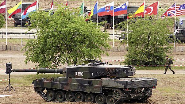 Neue Eingreiftruppe der NATO übt in Polen