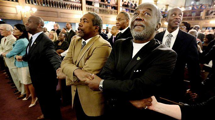 В США - всенощные бдения в память о жертвах Чарльстона