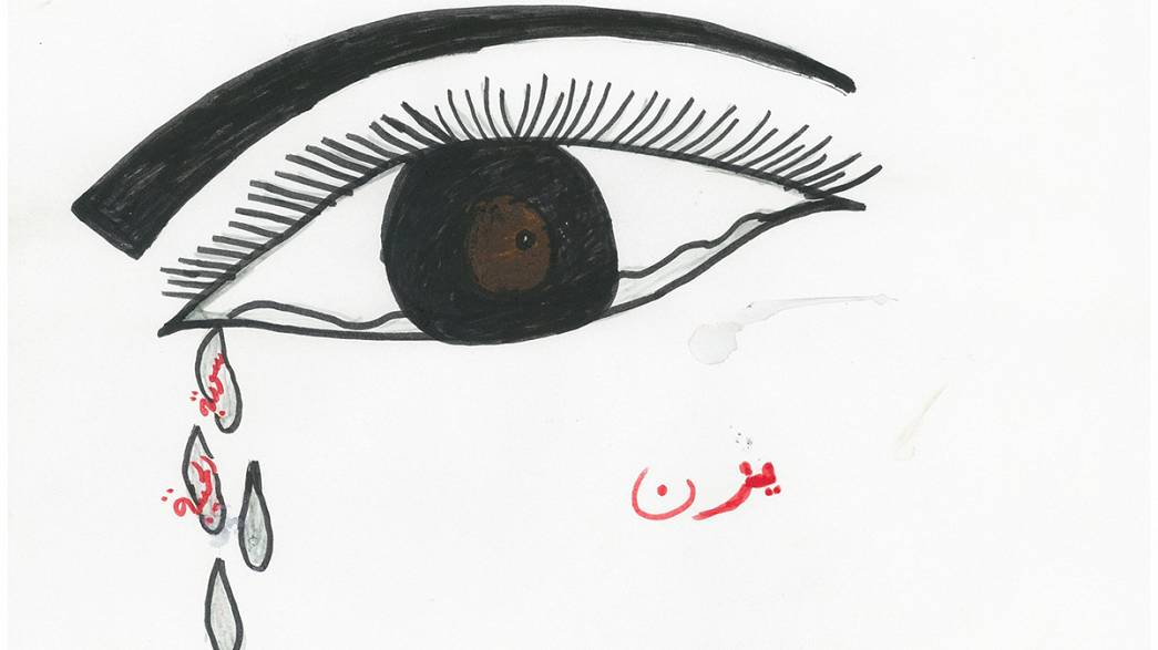 Children's drawings offer insights into the terror of Syria's war
