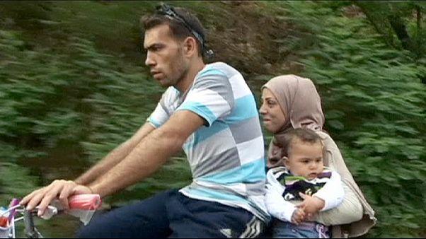 الهجرة فوق الدراجة