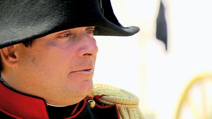 Rencontre avec Napoléon, Wellington, Blücher et le prince d'Orange