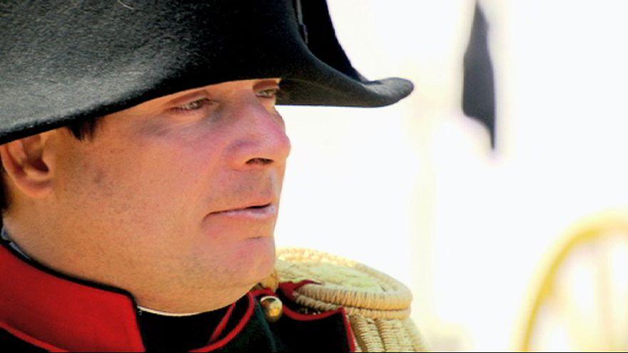 "Napoleão, Wellington, Blücher e Príncipe de Orange ""reencontram-se"" em Waterloo"