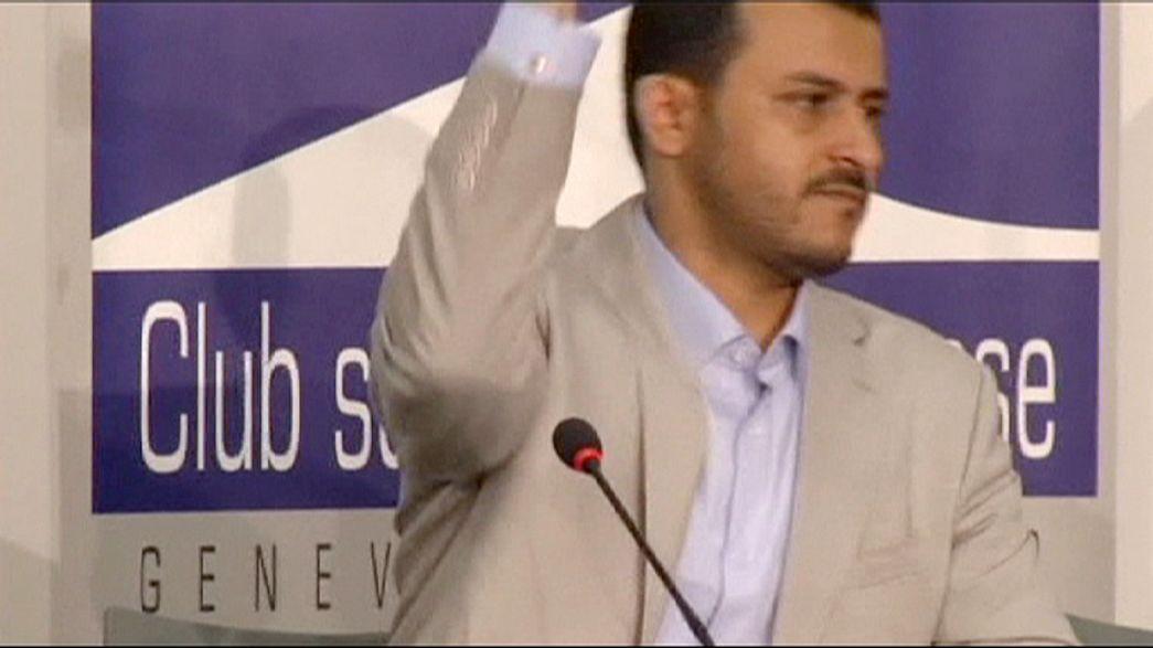 Consultas em Genebra terminam sem acordo sobre o Iémen