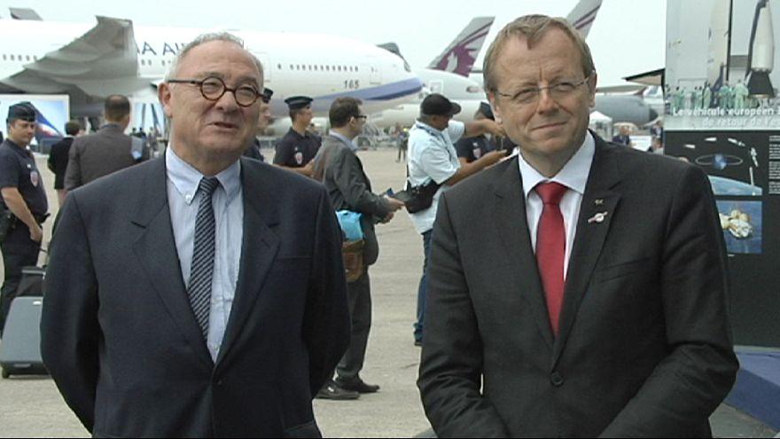 Οι επικεφαλής του Ευρωπαϊκού Οργανισμού Διαστήματος στο euronews