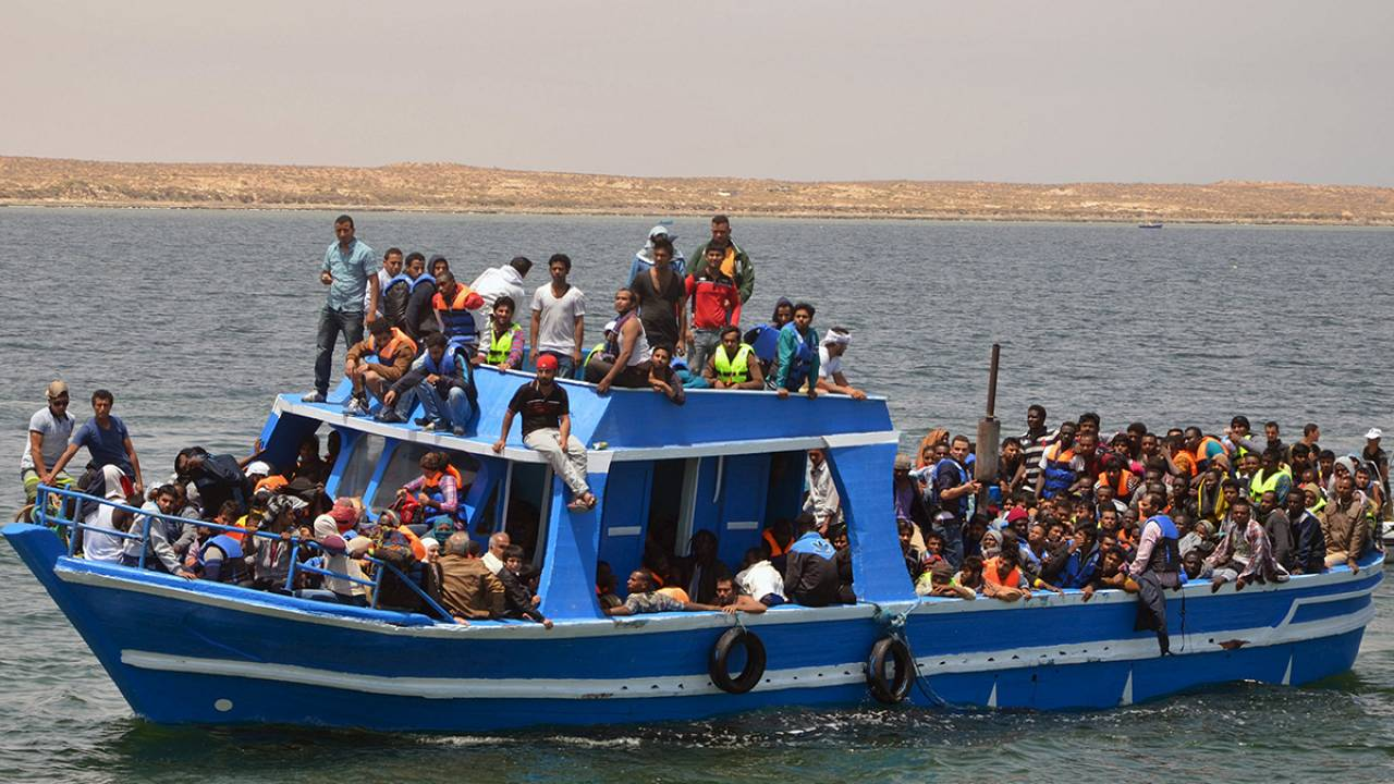 How can drones be used to save lives in the Mediterranean migrant crisis?