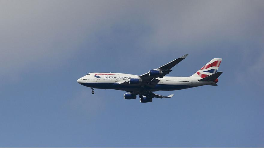 Stowaway dies after 'falling from plane onto London roof'