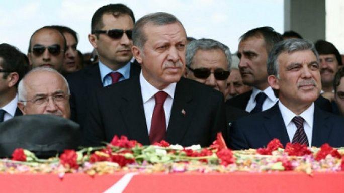 Erdoğan ile Gül mecliste buluştu