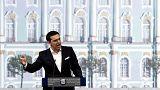 Crise de la dette grecque : Alexis Tsipras s'affiche en Russie et emporte un accord gazier