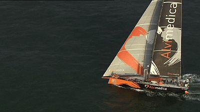 Volvo Ocean Race: Team Alvimedica davanti a tutti a L'Aia