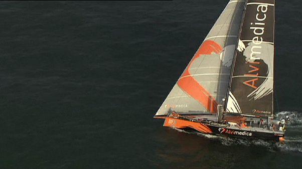 Volvo Ocean Race: Alvimedica na frente a caminho de Gotemburgo