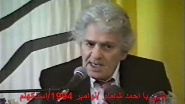 فیلم شعرخوانی شاملو در ایران منتشر می شود