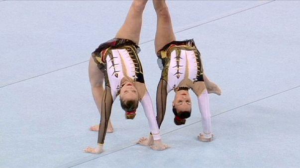 الألعاب الأوروبية : ميدالية ذهبية أولى لبلجيكا ورقم قياسي لإيطاليا