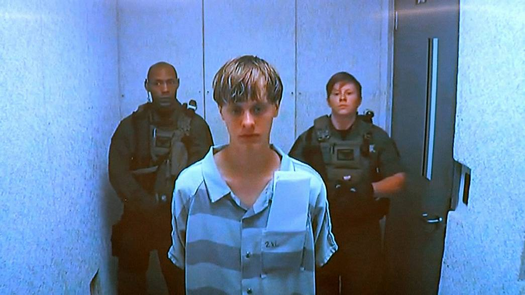 Charleston: Dylann Roof formalmente acusado de homicídio