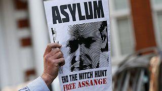 Λονδίνο: Συγκέντρωση συμπαράστασης στον ιδρυτή του Wikileaks