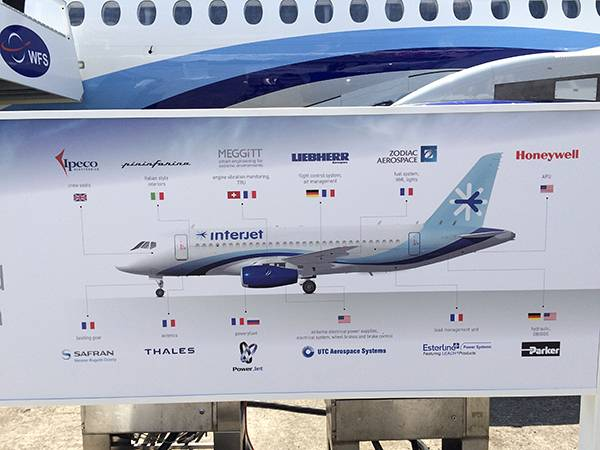 Sukhoi Superjet 100 Counts On Comfort To Expand Its Narrow