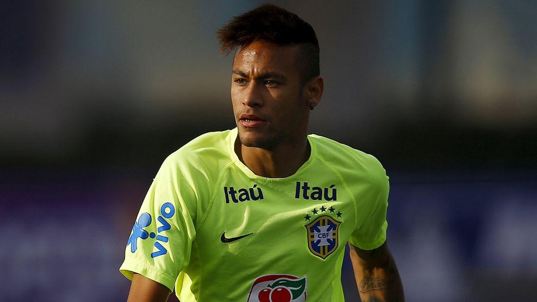 Neymar dice adiós a la Copa América de fútbol