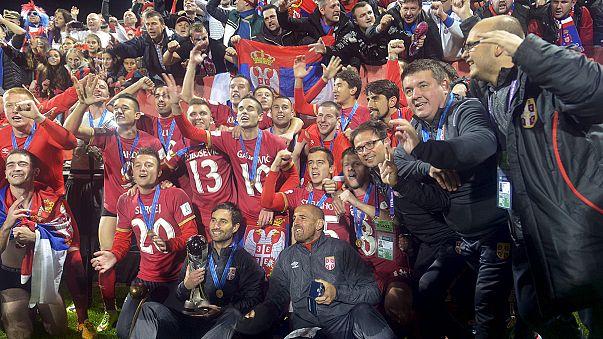 Foot U20 : la Serbie bat le Brésil et devient championne du monde