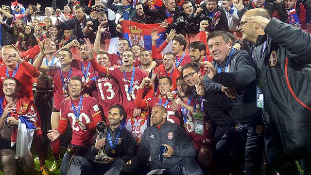 تتويج صربيا بكأس العالم لكرة القدم لأقل من عشرين سنة